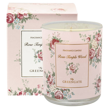 GreenGate Scented candle Aurelia white 120g