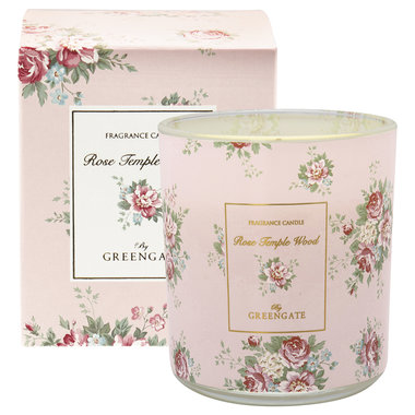 GreenGate Scented candle Aurelia white 240g