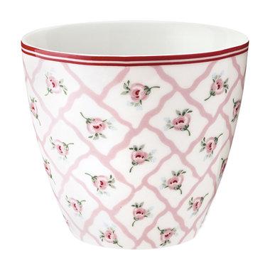 GreenGate Mokje / Latte cup Rita Pale Pink H: 9cm