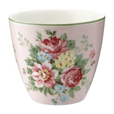 GreenGate Mokje / Latte cup Aurelia Pink H: 9cm