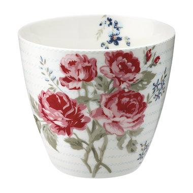 GreenGate Mokje / Latte cup Elisabeth pale blue H: 9cm