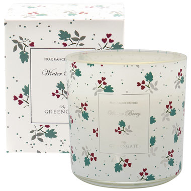 GreenGate Scented candle Joselyn white 240g