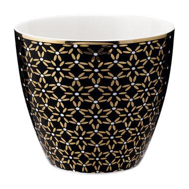 GreenGate Mokje / Latte cup Juno Gold H: 9cm