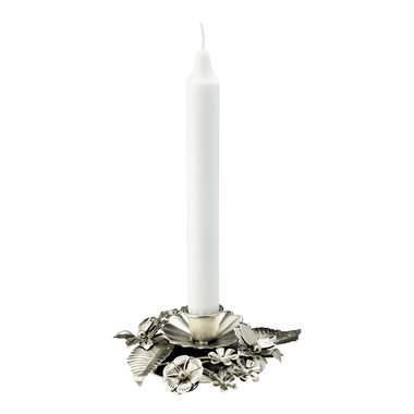GreenGate Kandelaar / Candle holder Silver D:13cm