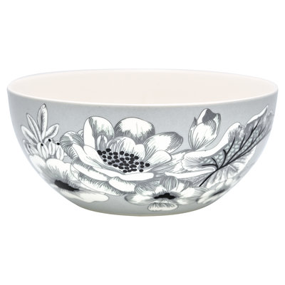 Cereal bowl Felicity grey D: 14,7 cm