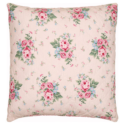 GreenGate Cushion Cover Marley pale pink 50x50cm