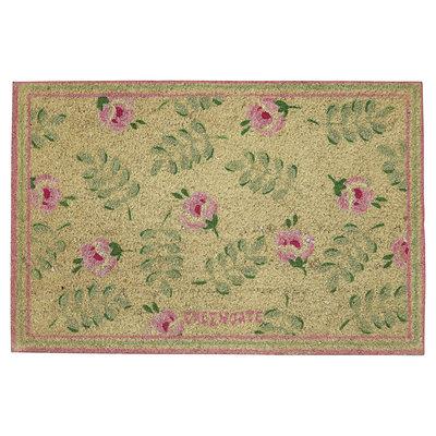 GreenGate Doormat  Lily petit white 40x60cm