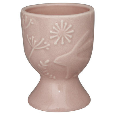 GreenGate Egg cup Evy pale pink H: 6,7cm