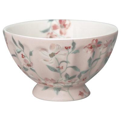 GreenGate French bowl medium Jolie Pale Pink D: 10cm