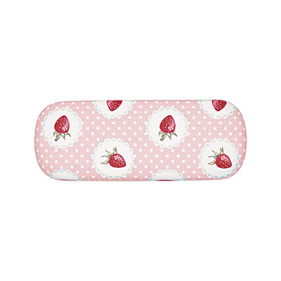 GreenGate Glasses case Strawberry p.pink 4x6x16cm