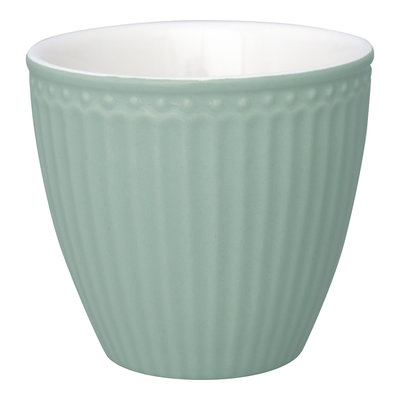 GreenGate Everyday Alice Latte cup Alice dusty mint