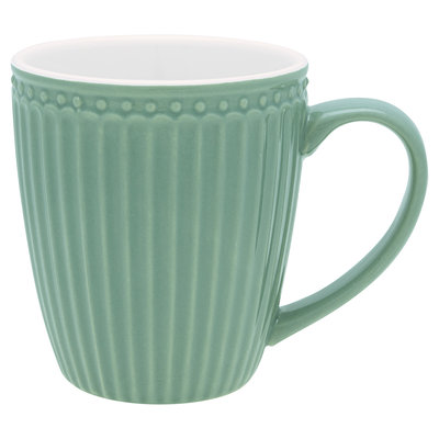 GreenGate Everyday Alice Mug Alice dusty green