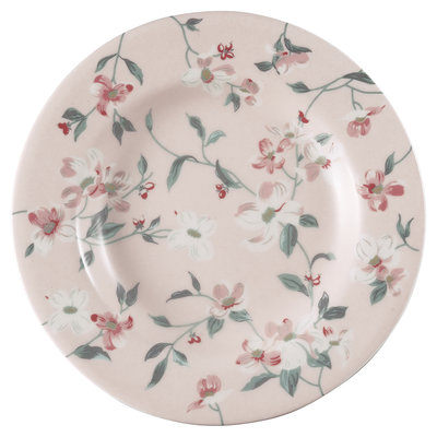 GreenGate Stoneware Jolie Pale Pink Small Plate D:15cm