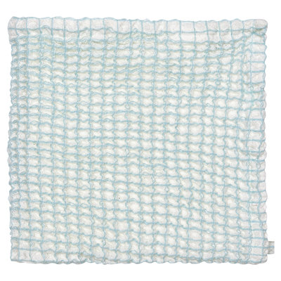 GreenGate Waffle Dish cloth Alice pale blue 40x40cm