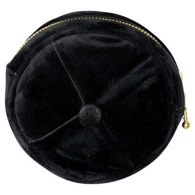 Gate Noir Cosmetic bag black round medium GN