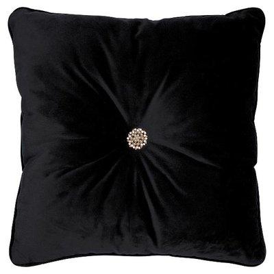 Gate Noir Cushion black w/gem stone 40x40cm GN