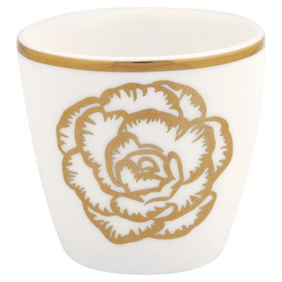 Gate Noir Egg cup small Blossom gold NBC GN H:4,5cm