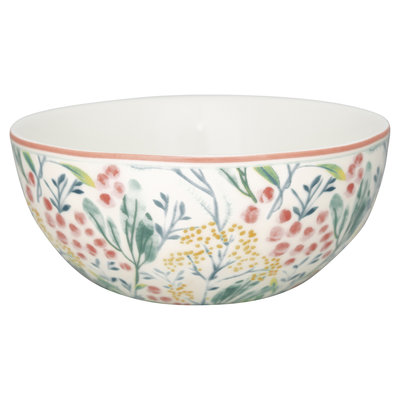 GreenGate Cereal bowl Megan white D: 14cm