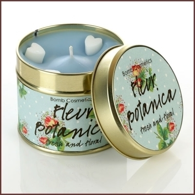 Bomb Cosmetics Geurkaars Fleur Botanica Tinned Candle