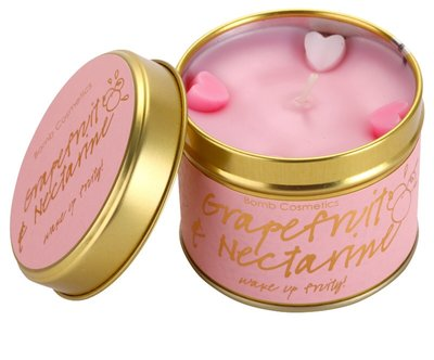 Bomb Cosmetics Geurkaars Grapefruit & Nectarine Tinned Candle