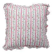 GreenGate Cushion Cover Gloria White w/frill 50x50cm