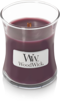 WoodWick® HearthWick® Dark Poppy Mini Candle