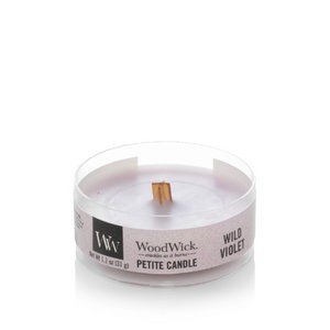 WoodWick Wild Violet Petit Travel Candle