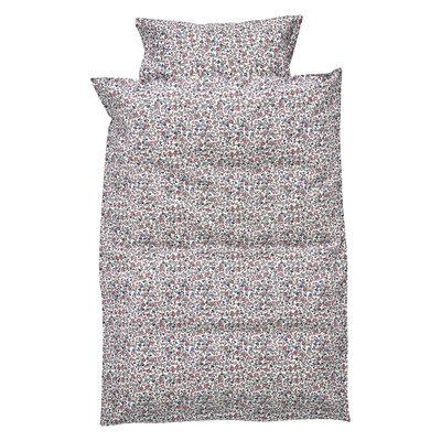 GreenGate Baby Dekbedovertrek / Baby bed linen set Ruby petit white 70x100cm