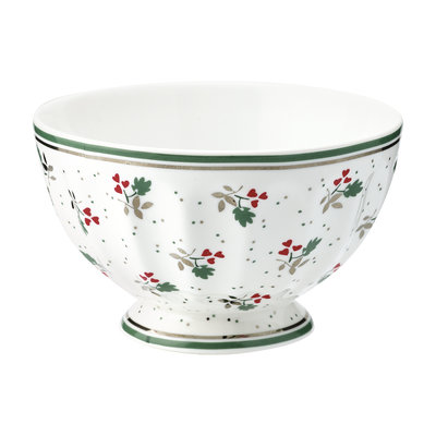 GreenGate Cereal Schaaltje / French bowl medium Joselyn White D:10cm
