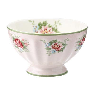 GreenGate Cereal Schaaltje / French bowl medium Aurelia Pale Pink D:10cm