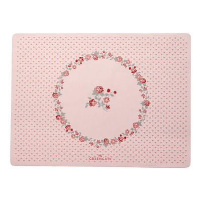 GreenGate Baby placemat Ruby Petit Pale Pink