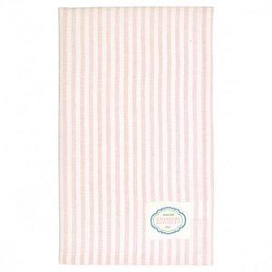 GreenGate Tea towel Alice pale pink 50 x 70cm