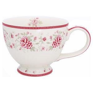 GreenGate Theekop / Teacup Flora Vintage H: 9cm