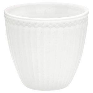 GreenGate Mokje / Latte Cup Alice White H:9cm