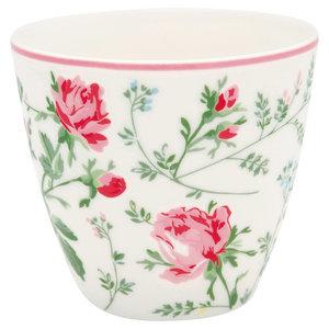 GreenGate Mokje / Latte cup Constance White