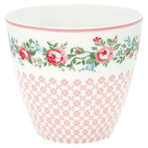 GreenGate Mokje / Latte cup Gabby White