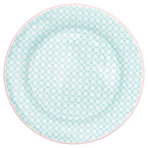 GreenGate_Helle_Pale_Blue_ontbijtbord_Plate