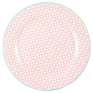 GreenGate_Helle_Pale_Pink_ontbijtbord_Plate
