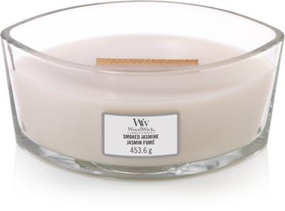 WoodWick® HearthWick®  Smoked Jasmine Ellipse Ceramic