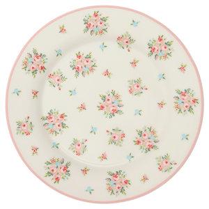 GreenGate_Abigail_White_ontbijtbord_Plate