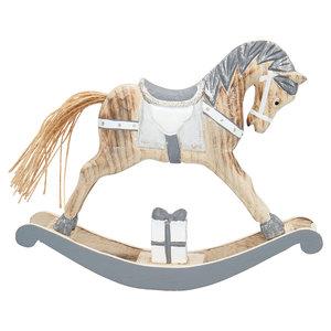 Greengate Decoratie Paard Grijs Sfeer Scent