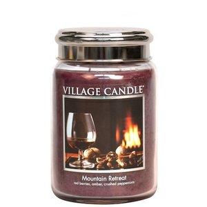 Village Candle Mountain Retreat 737gr Large Candle
