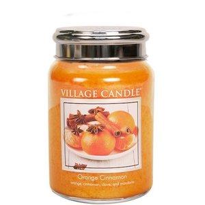 Village Candle geurkaars Orange Cinnamon737