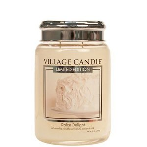 Dolce Delight Village Candle Geurkaars Large