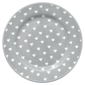GreenGate_Penny_Grey_ontbijtbord_Plate