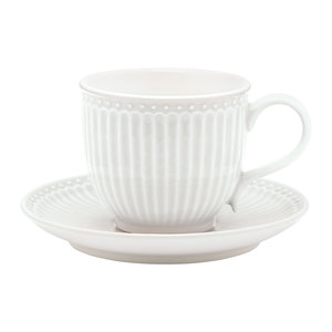 GreenGate_Alice_White_Cup_Saucer