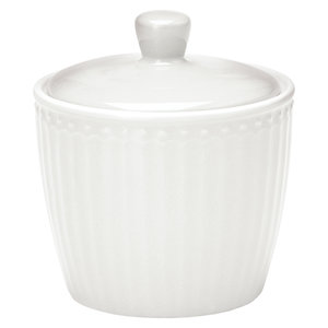 GreenGate-Alice-White-Sugar-Pot