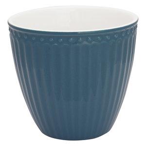 GreenGate Mokje / Latte Cup Alice Ocean Blue H:9cm
