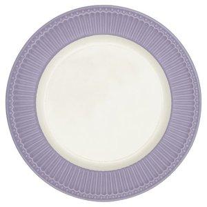 GreenGate_Alice_Lavender_Dinnerplate_Essteller_Dinerbord