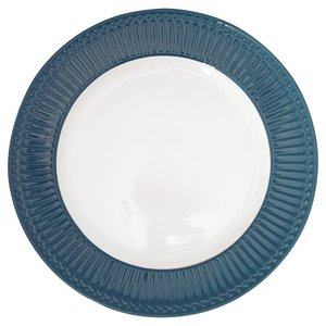 GreenGate_Alice_Ocean_Blue_Dinnerplate_Essteller_Dinerbord
